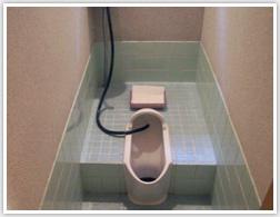 和式のトイレはしゃがむのが大変だったそうです。